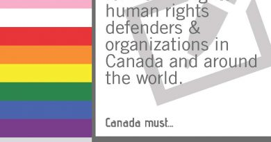 Civil Society calls on Government of Canada for Greater Action on LGBTI Rights Globally