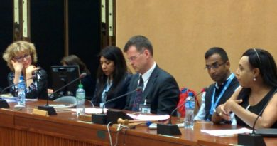 Extra judicial violence and killings based on sexuality and gender-HRC35 side event