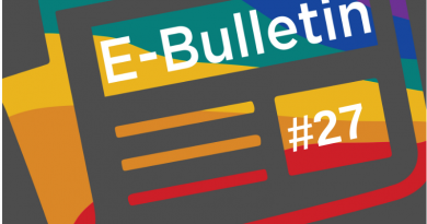 Our latest e-bulletin is out!